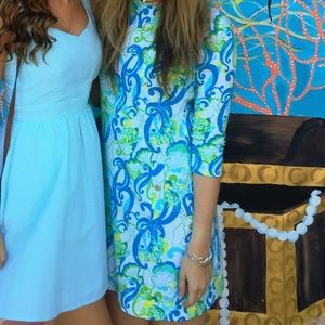 Lilly Pulitzer Janice Crystal Coast Sleeved Dress